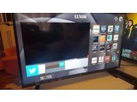 LUXOR 43 TV 4K SUPER Smart HD TV,built in Wifi,Freeview HD, NETFLIX. Ex-Display/New 2017 MODEL