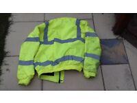 Baratec Hi-Vis Bomber jacket