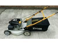 Ryobi petrol lawnmower