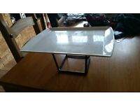 platter plate with stand brand new