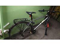 Pinnacle Neon One 2015 - hybrid bike - 50cm frame large + Abus Ultimate D-Lock
