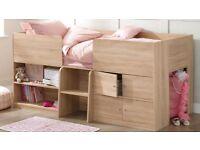 Child storage bed