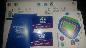Scotland season pass x2