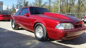 1990 Ford Mustang ( nitrous) mint condition