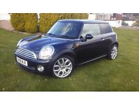 Bmw Mini (Cooper spec) One, Pepper pack (plus), FSH, Long MOT, Low mileage