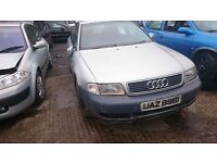 1998 AUDI A4, 1.9 TDI, BREAKING FOR PARTS ONLY, POSTAGE AVAILABLE NATIONWIDE
