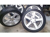 4 ALLOYS AND TYRES