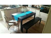 IKEA BJURSTA Table and Bench