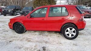 2008 Volkswagen City Golf 2.0L 35$/semaine (sur 3 ans)