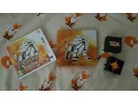 Pokemon Sun fan edition with exclusive Sun pin