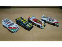 Various collectable diecast cars. Disney batman