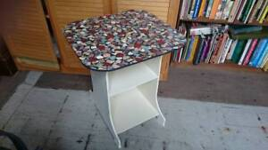 Occasional table/side table - cream base