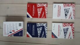 Official Life in the United Kingdom UK Citizenship Test 4 Books Set in very good condition
