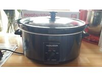 Morphy Richards Slow Cooker 3.5L Boxed with instructions
