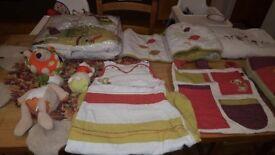 Mamas and Papas Hodge podge nursey bundle