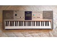 Yamaha PSR-E323 Digital Keyboard (Silver) Excellent Condition