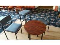 tables and chairs for pub or club £3 table £3 chair
