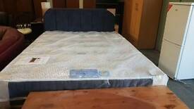 Brand new double divan base and memory foam mattress set