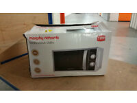 Morphy Richards 20L Microwave Silver colour (boxed)