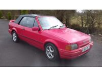 Classic car ford project escort not xr or rs