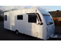 CARAVAN LUNAR VENUS 490/4-YEAR 2012-MNT CONDITION-MOTOR MOVER-FIXED BED