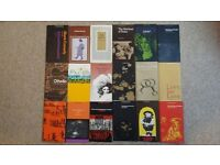 Theatre programmes, large collection from 1960s to 2002 National Theatre and Old Vic