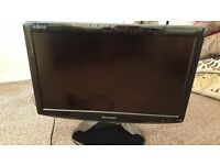 """Sharp 18"""" Flat Screen TV with remote control"""