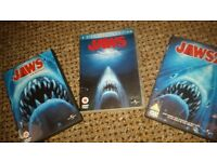 jaws dvds x3