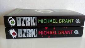 Bzrk books by Michael Grant