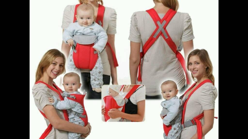 Baby carrier in navy