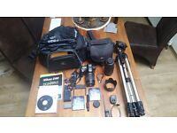 Nikon D90 with Lenses and Accessories