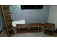 Livingroom furniture. Dark oak . NOW SOLD