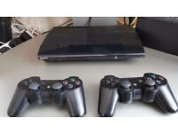Slimline sony 5oogb ps3 with 8 games