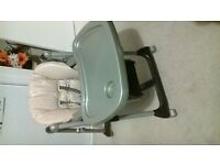 prima pappa adjustable highchair small tear on cover
