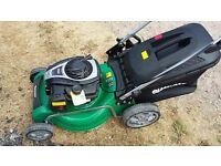 Qualcast self propelled lawn mower 46cm brand new