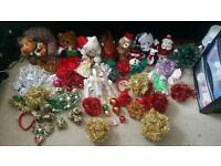 Large bundle joblot christmas stuff