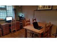 Home office space / desk space available to hire during the day