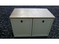 Small Nathan furniture cabinet/tv unit