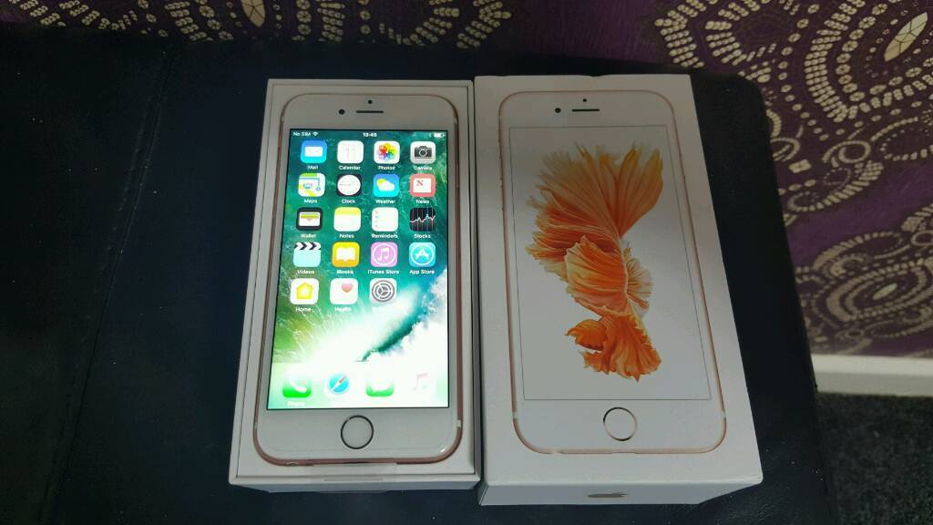 IPhone 6s NEW 16GB o2in Blackburn, LancashireGumtree - IPhone 6s 16gb unlocked its brand new replacement handset from Apple comes with charger box with apple 07473903826