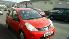 Bargain for sale Nissan Note 1.5dci 2012