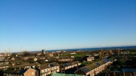Two bedroom flat with stunning sea views views