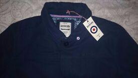 Brand new Lambretta mens navy coat