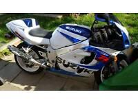 Suzuki gsxr600 x 1999