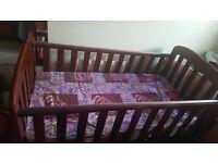 East Coast Cot bed & Anti-allergy mattress ( unused)