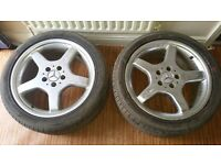 Mercedes Sl AMG alloys wheels