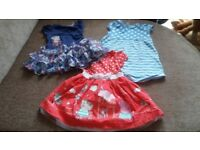 Girls bundle summer clothes age 2-3