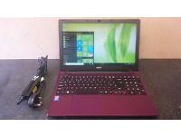 "Acer E5-571 15.6"" Screen. Intel Core i5 4210u - 1TB SSHD - 4Gb Ram - Very Fast !!"