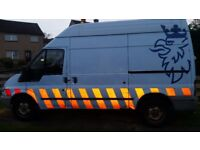 Ford transit ex gas van 110 supply & comp air isolation fully working 95k miles new mot ready to go