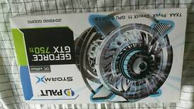 GeForce GTX 750ti of edition 2gb DDR5 graphics card