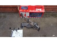 B&q precision deep cut miter saw in good condition working fine!box and manual! can deliver or post!